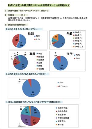 平成30年度アンケート報告